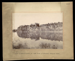 Castle of Bhainsror on right bank of Chambal, Udayapur [Udaipur] State
